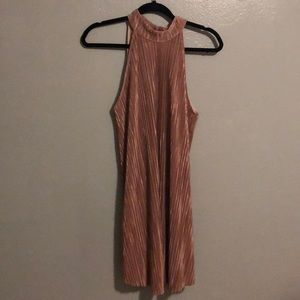 NWT AUDREY 3 +1 VINTAGE FEEL SWING DRESS ROSEGOLD